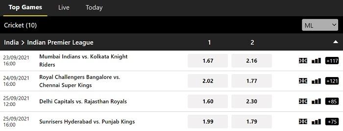 10CRIC Sports Betting